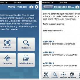 Una aplicación para móviles permitirá consultar la información sobre medicamentos de forma accesible y gratuita