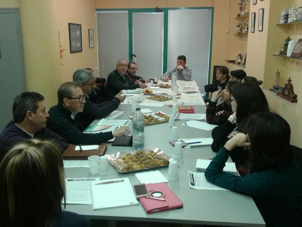 Reunió de les Juntes de les cuatre províncies